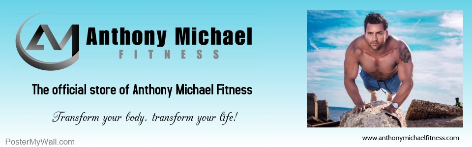 Anthony Michael Fitness is pleased to offer these products with our logo on them for you to purchase! If you find an item that you'd like with the logo on it and it's not in the store currently, please let us know! Custom Shirts & Apparel